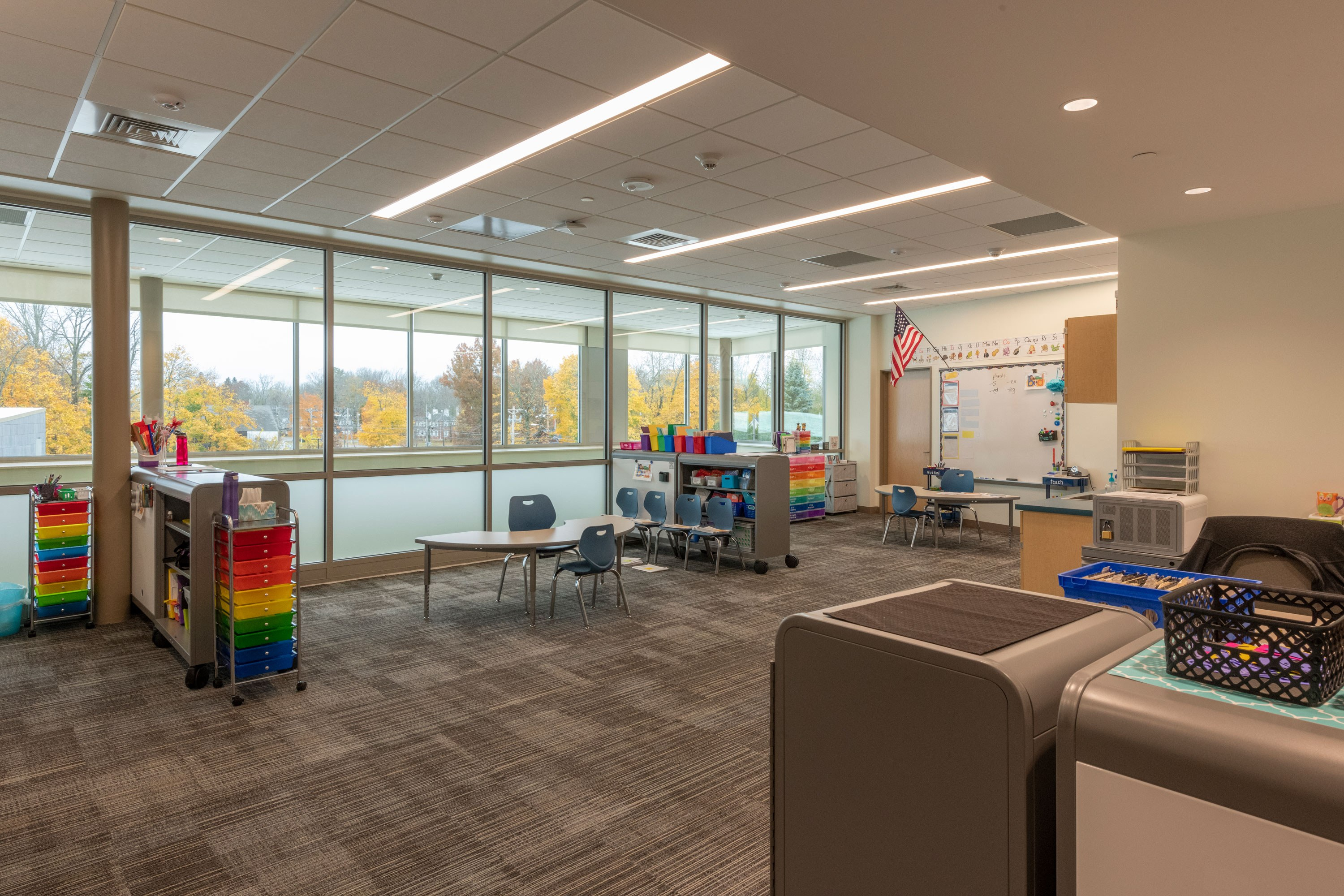 Narragansett RSD Templeton Center School Interior Image 6 small group